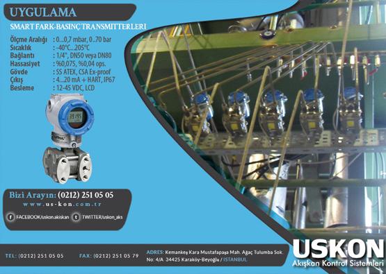 Smart Fark-Basınç Transmitterleri Uygulaması