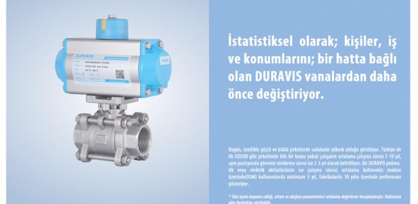 Uzun Ömürlü ve Güvenilir Vana Otomasyonu…DURAVIS…