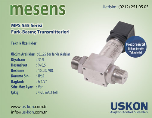 Mesens Differential Pressure Transmitter
