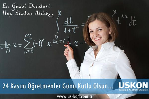 En Güzel Dersleri Hep Sizden Aldık… 24 Kasım Öğretmenler Günü Kutlu Olsun…