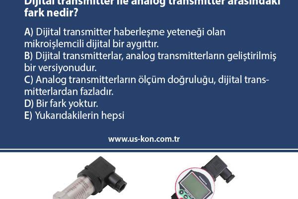 USKON Quiz – Dijital Transmitterlar ile Analog Transmitterlar Arasındaki Fark Nedir?