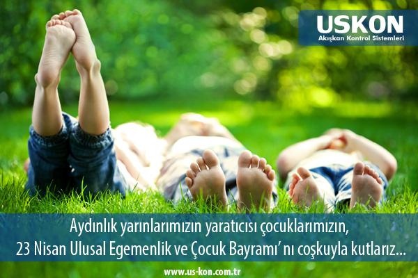 Aydınlık yarınlarımızın yaratıcısı çocuklarımızın, 23 Nisan Ulusal Egemenlik ve Çocuk Bayramı' nı coşkuyla kutlarız…