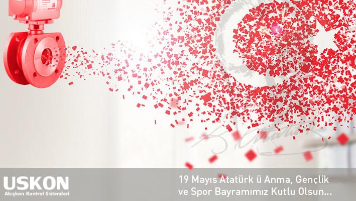 19 Mayıs Atatürk ü Anma, Gençlik ve Spor Bayramımız Kutlu Olsun…
