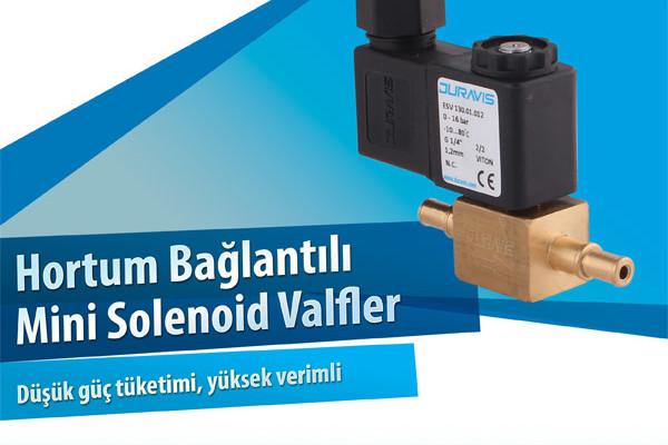DURAVIS Hortum Bağlantılı Mini Solenoid Valfler