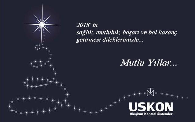 2018 in Sağlık, mutluluk, başarı ve bol kazanç getirmesi dileklerimizle…