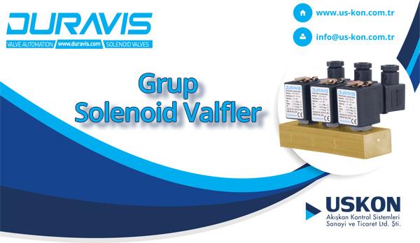 DURAVIS Grup Solenoid Valfler