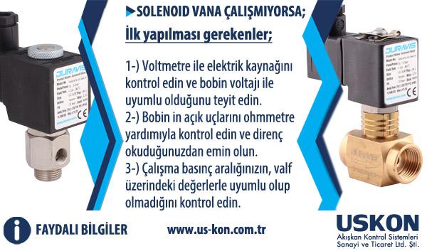 Faydalı Bilgiler: Solenoid Valfin Çalışmaması Durumunda İlk Yapılması Gerekenler
