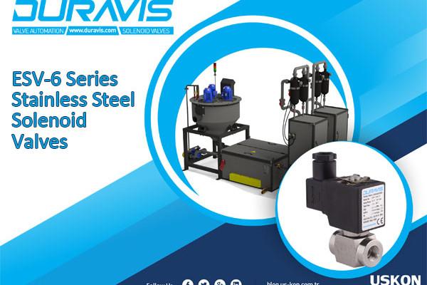 DURAVIS ESV-6 Series Stainless Steel Solenoid Valves