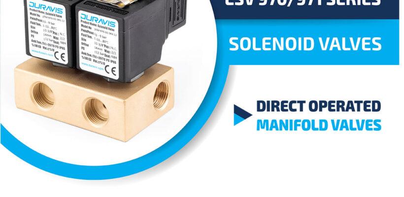 DURAVIS ESV 970/971 Series Manifold Solenoid Valves