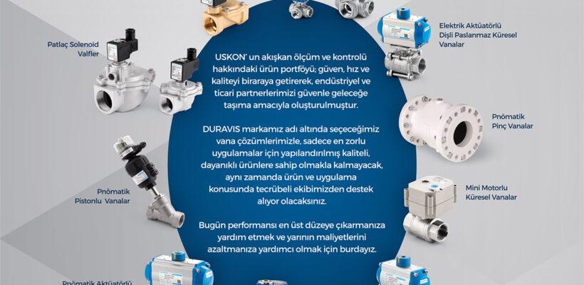 DURAVIS Endüstriyel Kontrol Vanaları