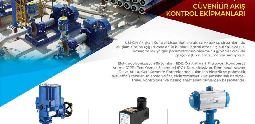 Su ve Atık-Su Sistemleri İçin Güvenilir Akış Kontrol Ekipmanları