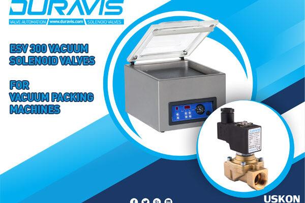 DURAVIS ESV300 Vacuum Solenoid Valves