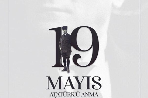 Atatürk'ü saygıyla anarken, başta gençlerimiz olmak üzere herkesin, 19 Mayıs Atatürk'ü Anma, Gençlik ve Spor Bayramı'nı kutlarız.