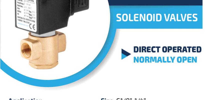 DURAVIS ESV 401 Series Solenoid Valves